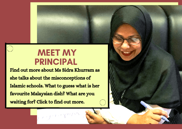 Meet My Principal - International Islamic School Malaysia