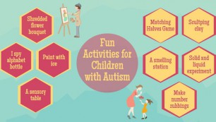 Fun Activities for Children With Autism