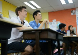 ISKL High School Students Learning About Forced Migration and Human Rights Firsthand