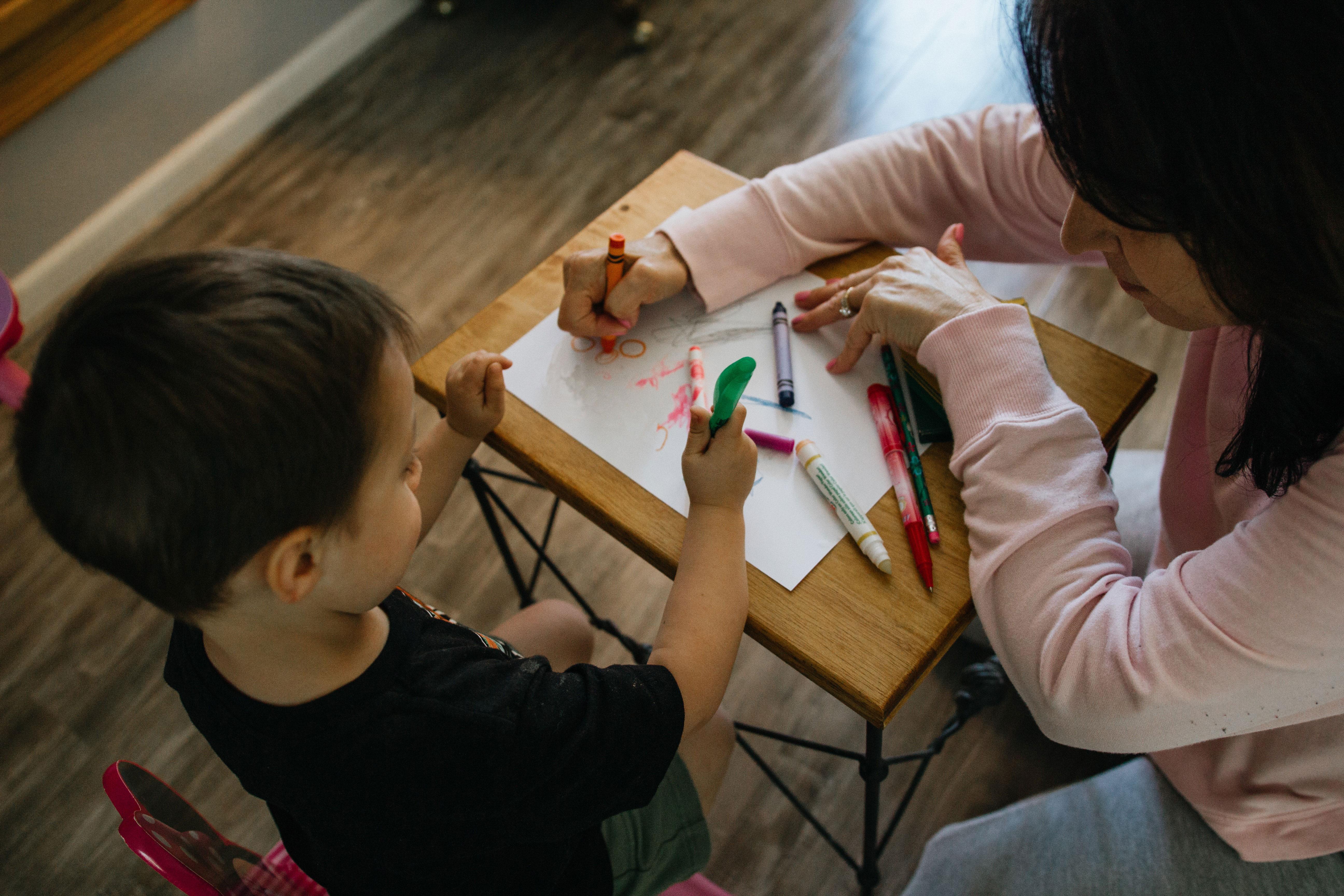 Teaching methods in preschools.