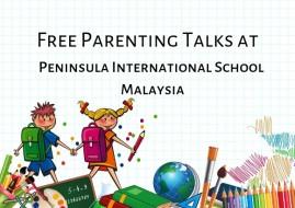 Free Parenting Talks at PISA