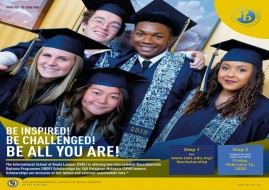 ISKL is offering two (IB) Diploma Scholarships for SPM leavers 2019