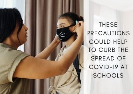 These Precautions Could Help to Curb the Spread of COVID-19 at Schools