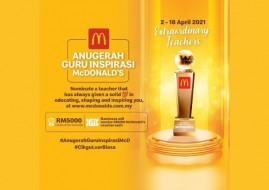 Celebrate Teacher's Day with McDonald's and Win Cash Prize Worth RM5000