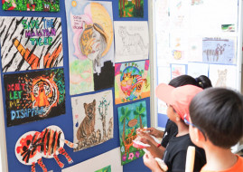 """""""I Couldn't Ignore the Plight of the Malayan Tiger."""" BSKL Year 7 Students Raised More Than RM40K to Help Conserve Endangered Species"""