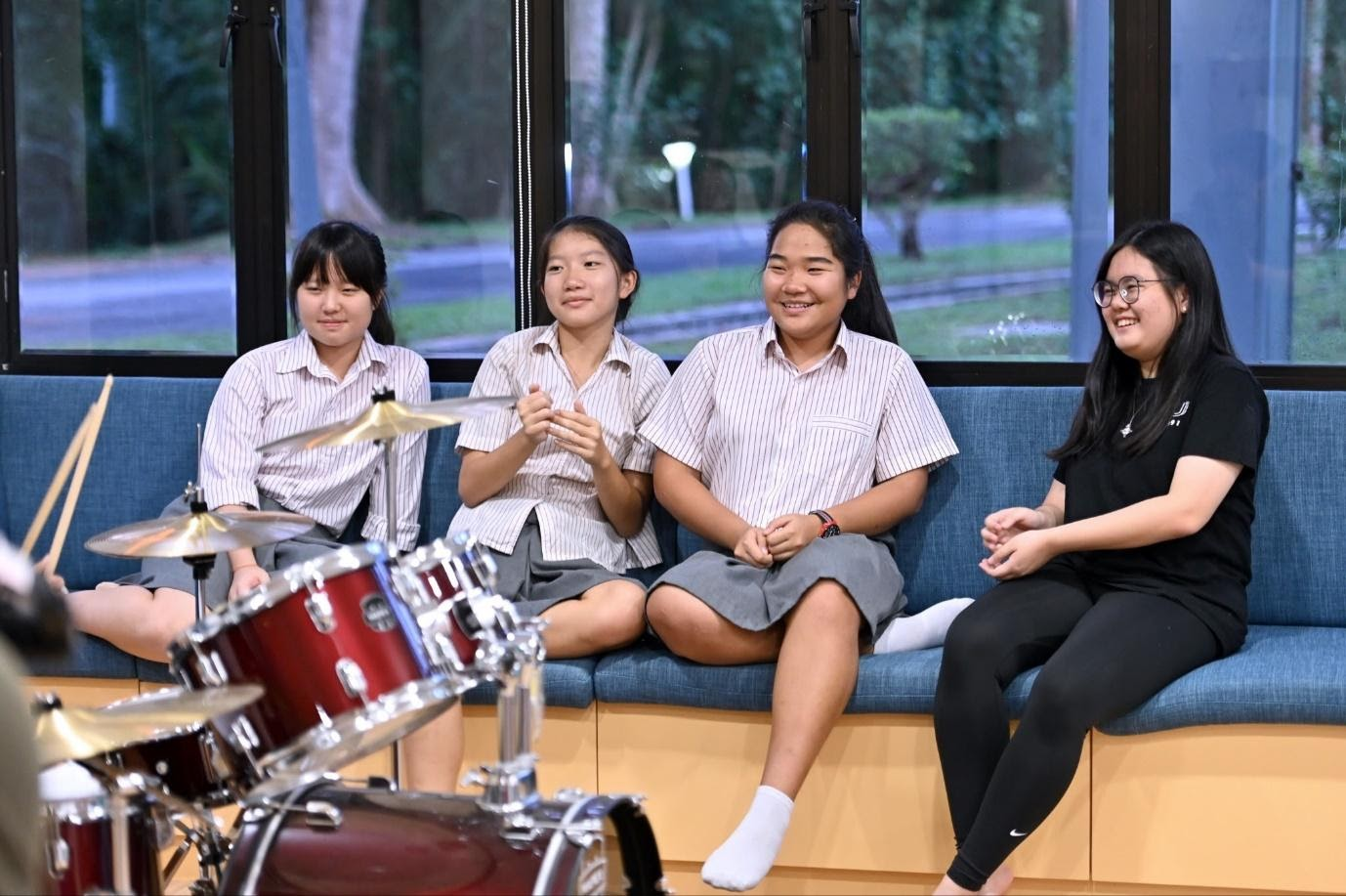 KTJ's boarding sets students up for at University, by developing key skills such as independence, discipline and tolerance.