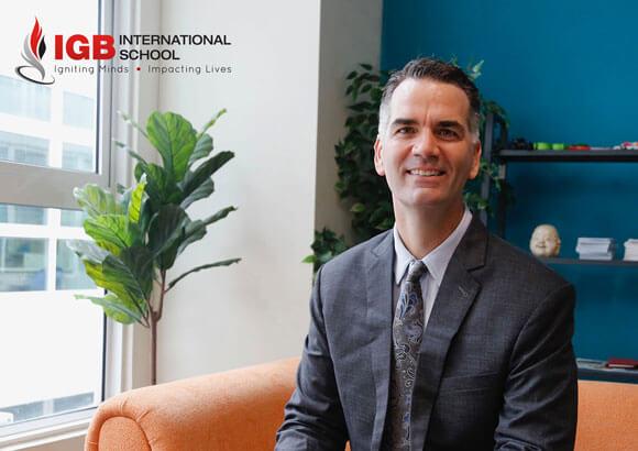 Jason McBride Is IGBIS' New Head Of School