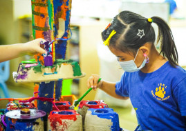 Developing The Wholeness Of A Child - A Glimpse Into ISKL's Early Childhood 'Provocations' Program