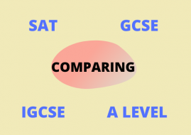 What's the difference between SAT, GCSE, IGCSE and A Level?